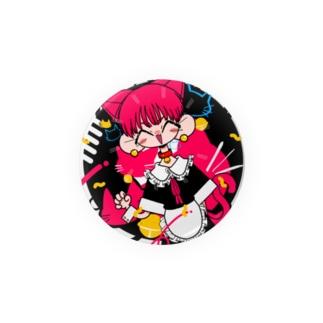 猫メイドボーイ Badges