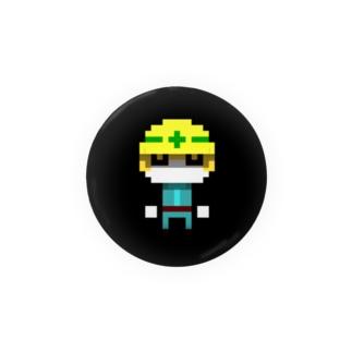 作業員さん_voxel job character_05 Badges