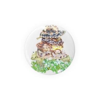 パンケーキ風パンケーキリクガメ Badges