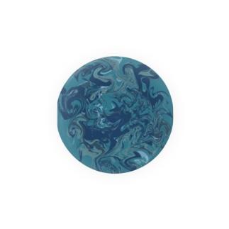 青と蒼とao Badges