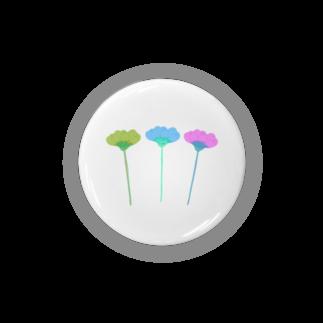 koricontentsのお花  暖かい春が来た Badges
