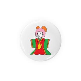 ジュウニヒトンエ(十二単豚衣)!? Badges