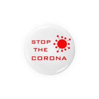 STOP THE CORONA Badge