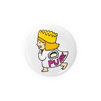 パンクガール Badges