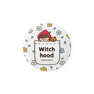 Witch hood(花柄ポケット) Badges