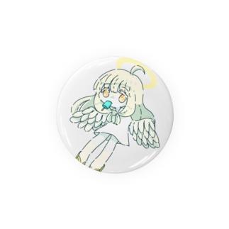 朝寝坊の天使(アイス) Badges