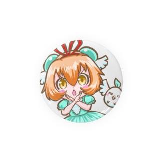 ミゾゴイちゃん缶バッチ Badges