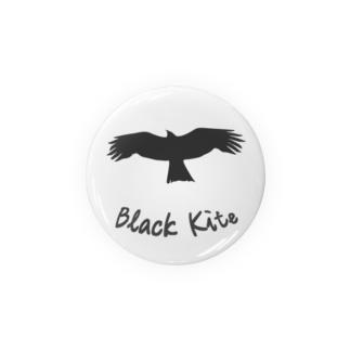 Black Kite (鳶) Badges