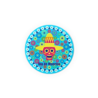 Day of the dead 1 Badges