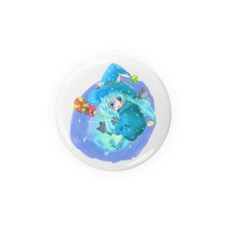魔法少女ゆるmiku with 使い魔にゃんズ Badges