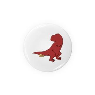 ティラノサウルスくん Badges