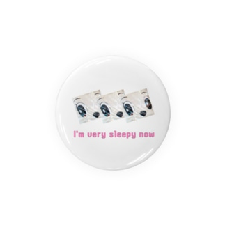 Layered face × I'm very sleepy now Badges