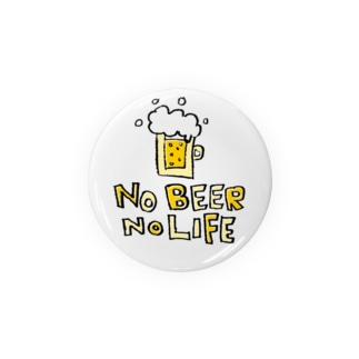 Children's Art / ノービールノーライフ NO BEER NO LIFE Badges