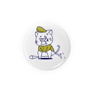 ヤンキー猫くん (黄色) Badges