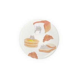パンとブリショ 缶バッジ