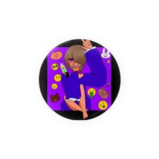 ばぶステッカー Badges