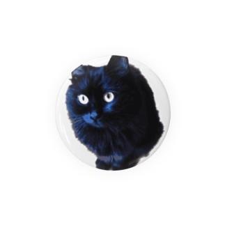 黒モフ/おすまし Badges