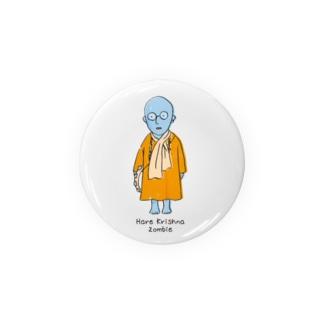 Halle Krishna Zombie(ハレクリシュナ ゾンビ) Badges