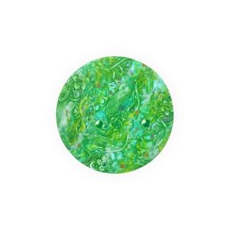 創星・緑 Badges