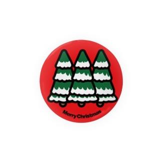 クリスマスツリー もみの木 Badges