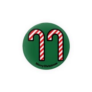 クリスマスオーナメント キャンディーケーン Badges
