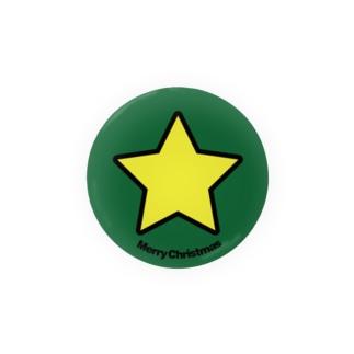 クリスマスオーナメント トップスター Badges