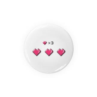 ♥️♥️♥️✖️3 Badges