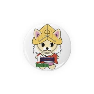 阿波踊りチワワちゃん Badges