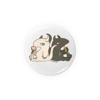 ペトル族の缶バッチ Badges