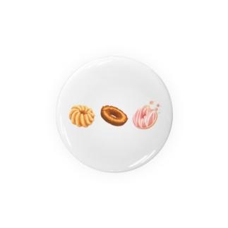 【sweets】ドーナツ Badges