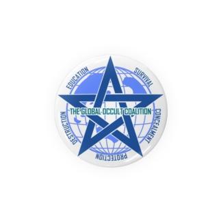 GOCロゴグッズ-文字入りシンプル[SCP Foundation] Badges