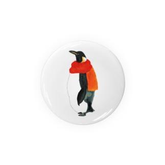マフラーペンギン Badges