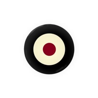 サークルa・黒・クリーム・チョコ Badges