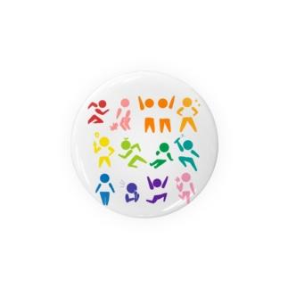 カラーセラピクトグラム Badges