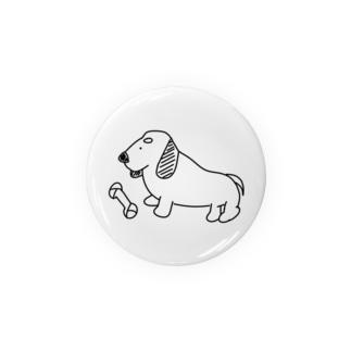 ゆる~い犬さん(ダックスフント) Tin Badge