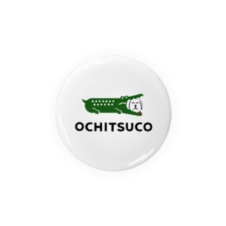 ふきだしいぬ【OCHITSUCO】 缶バッジ