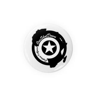 キャプテン☆アフリカ アフリカンシールド(シングルカラー) 缶バッジ