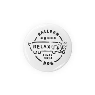 ふきだしいぬ【RELAX】 缶バッジ