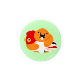 ふきだしびーばー【縁起】 Badges