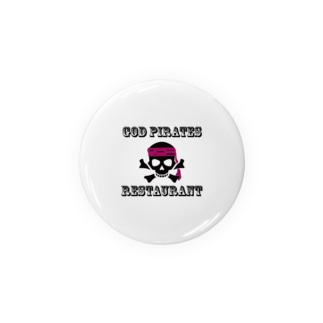 GOD PIRATES RESTAURANT Badges