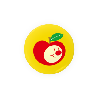 YASUKOのりんごちゃん(No.1) Badges