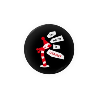 ヘビのCHARLEY(No.2) 缶バッジ