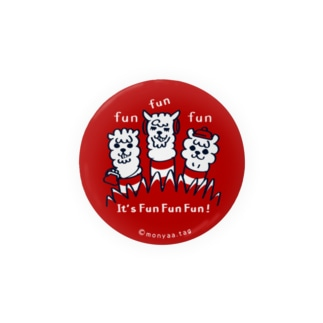 It'FunFunFun【A】56mm缶バッチ用  Badges