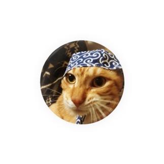 泥棒トラ猫。 Badges