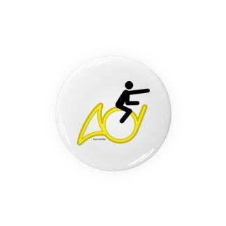 The Flying Hornist w/o Logo Badges