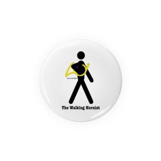 The Walking Hornist w/ Logo Badges