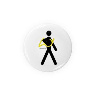 The Walking Hornist w/o Logo Badges