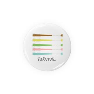 てょんぬショップの釘バット Badges