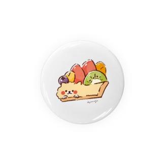 ぽわぽわポメちゃん -フルーツタルト- Badges