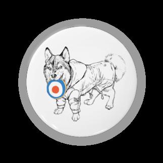 兎陀都弐四蜂のMODSハスキー犬 Badges